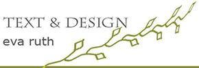 Text & Design Eva Ruth