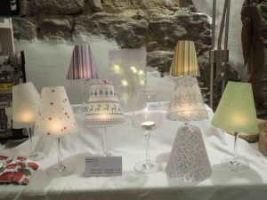 Lampenschirme aus Transparentpapier